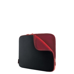 """Belkin Neoprene Sleeve for Notebooks up to 17"""" - Notebook carrying case - jet, cabernet Reviews"""