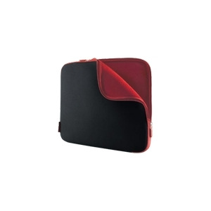 """Photo of Belkin Neoprene Sleeve For Notebooks Up To 17"""" - Notebook Carrying Case - Jet, Cabernet Laptop Bag"""