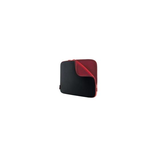 "Belkin Neoprene Sleeve for Notebooks up to 17"" - Notebook carrying case - jet, cabernet"