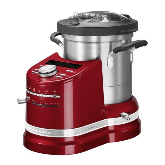 Artisan Cook Processor - Empire Red