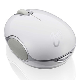 GOJI GMWLWHT15 Wireless Blue Trace Mouse - White Reviews