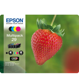 Strawberry 29 Cyan, Magenta, Yellow & Black Ink Cartridges - Multipack Reviews