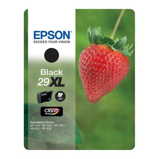 Strawberry 29 XL Black Ink Cartridge