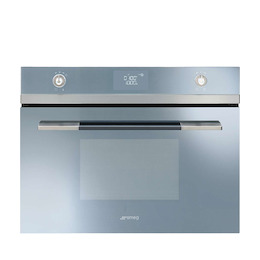 SMEG SF4120MCS Silver glass Compact combination microwave oven Reviews