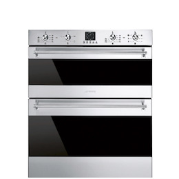Smeg DUSF636X Dark glass/stainless steel Built under electric double oven Reviews