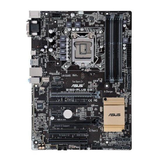 Asus B150-PLUS D3 socket LGA1151 VGA DVI-D 8-Channel HD Audio ATX Motherboard