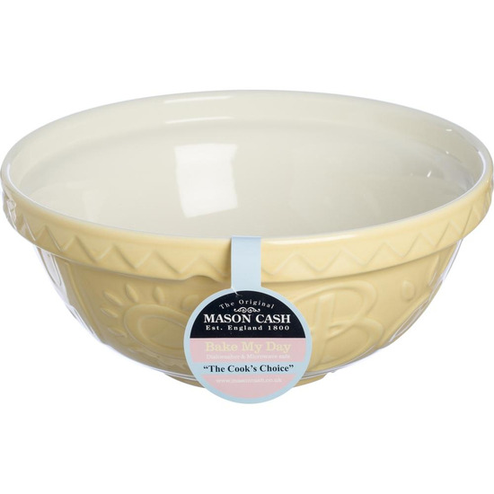 Bake My Day 29 cm Mixing Bowl - Yellow
