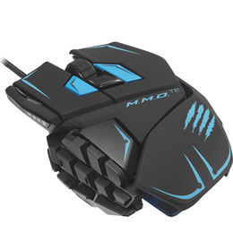 MAD CATZ M.M.O. TE Laser Gaming Mouse - Black & Blue Reviews