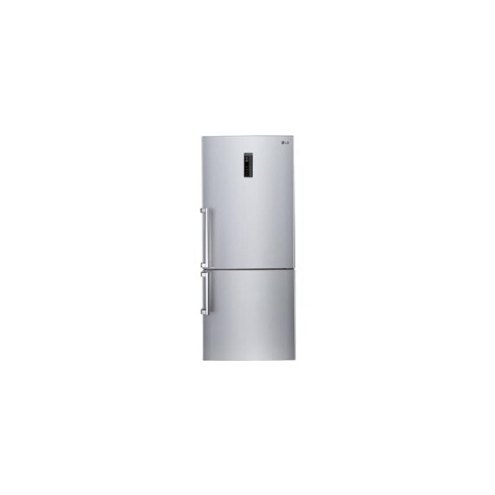LG GBB548PZQZB 70cm Wide Freestanding Fridge Freezer Shiny Steel