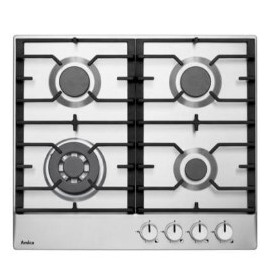 Amica PGZ6411X 4 Burner Gas Hob - Stainless Steel Reviews