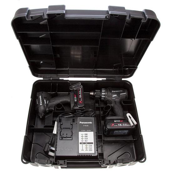 Panasonic EYC215PN2G31 Cordless 18V Twinpack (2 x 3.0Ah Batteries)