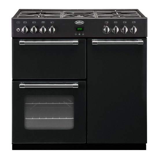 Country Range 90GT 90cm Dual Fuel Range Cooker Chrome