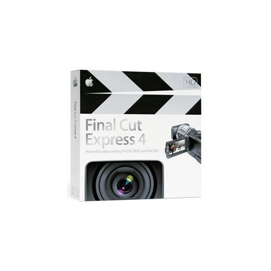 Apple Final Cut Express 4 (Mac)