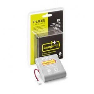 Photo of PURE CHARGEPAK E1 RECHARGABLE BATTERY Battery Charger