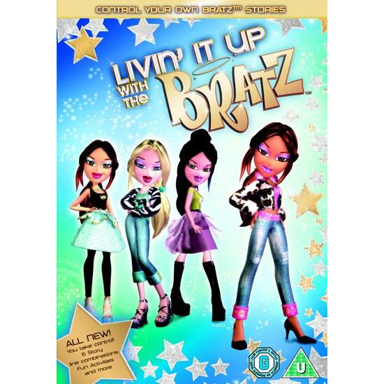 Bratz - Living It Up DVD Video