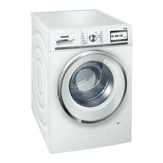 Siemens iQ700 WM16Y792GB Washing Machine - White