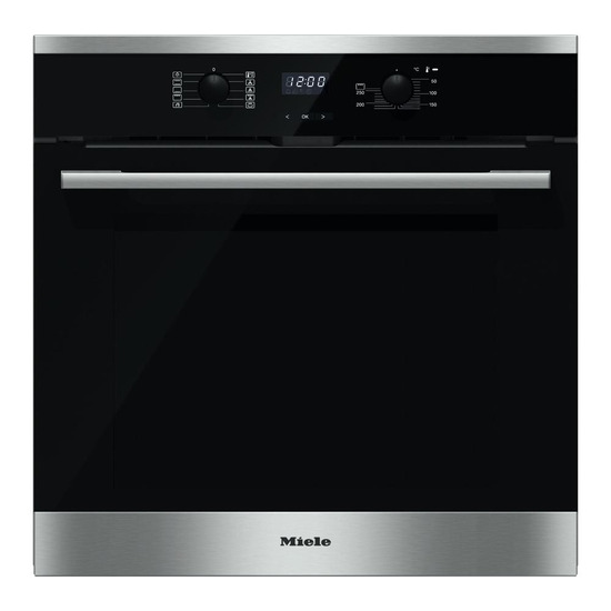 Miele H2561BP Electric Single Oven Steel