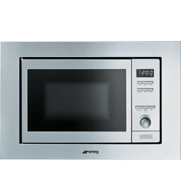 SMEG MI20X-1 Built-in Microwave with Grill - Stainless Steel Reviews