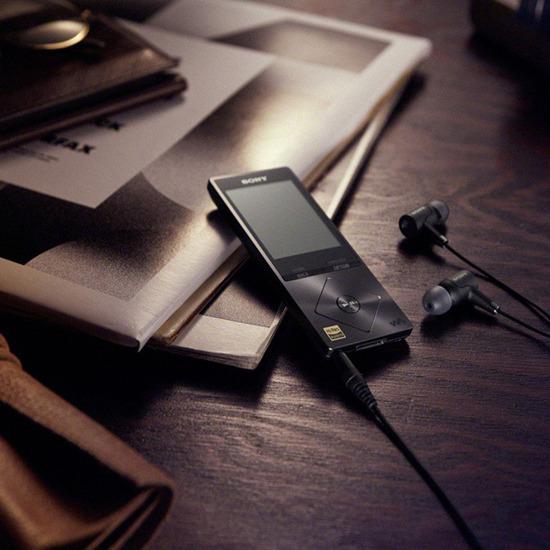 SONY Walkman NW-A27HNB 64 GB MP3 Player with FM Radio - Black