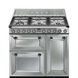 Victoria TR93X 90 cm Dual Fuel Range Cooker Stainless Steel Reviews