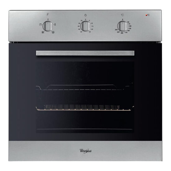 Whirlpool AKP436 IX Electric Oven - Stainless Steel