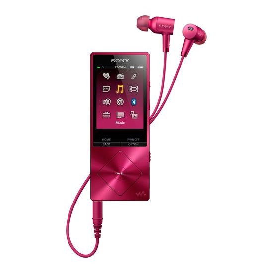 Sony Walkman NWA25HNP.CEW 16 GB MP3 Player with FM Radio - Pink
