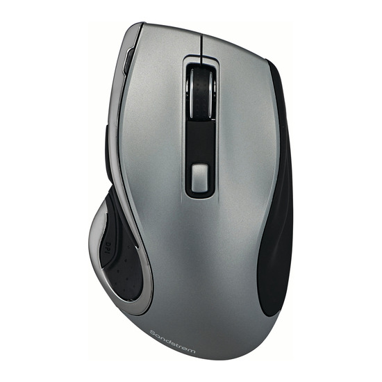 SMWLHYP15 Wireless Blue Trace Mouse - Gun Metal