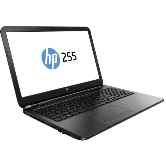 """HP 255 G4 Laptop, AMD A6-6310 1.8GHz, 4GB RAM, 500GB HDD, 15.6"""" LED, DVDRW, AMD, Webcam, Bluetooth, Windows 8.1 Pro"""