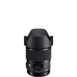 Sigma 20mm f/1.4 DG HSM I Art Wide Angle Lens Canon Fit