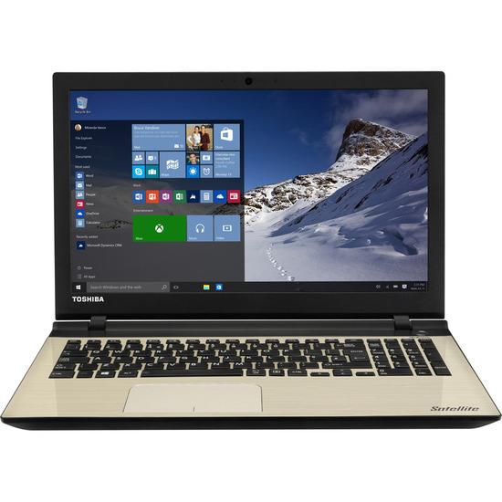"""Satellite L50-C-1H1 15.6"""" Laptop - Satin Gold"""