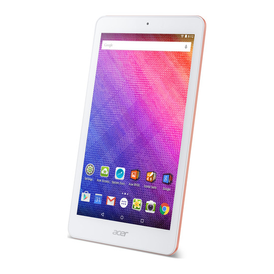 """Acer Iconia One 8"""" Tablet - 16, GB Pink"""
