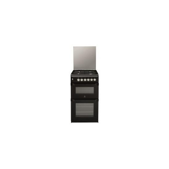Indesit ITL50GK 50cm Gas Cooker -Black