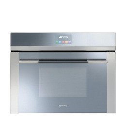 Smeg SF4140MC Stainless steel Compact combination microwave oven Reviews