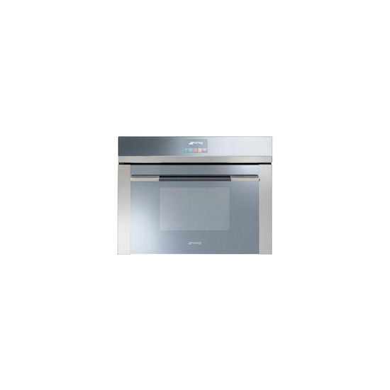 Smeg SF4140MC Stainless steel Compact combination microwave oven
