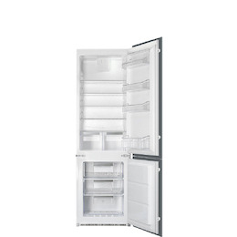 SMEG C7280NEP Built Integrated frost free fridge freezer Reviews