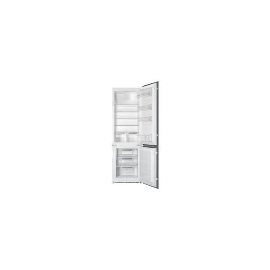 SMEG C7280NEP Built Integrated frost free fridge freezer