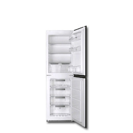 Smeg UKC7172NP Built in Integrated frost safe fridge freezer Reviews