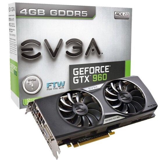 EVGA GTX 960 FTW ACX