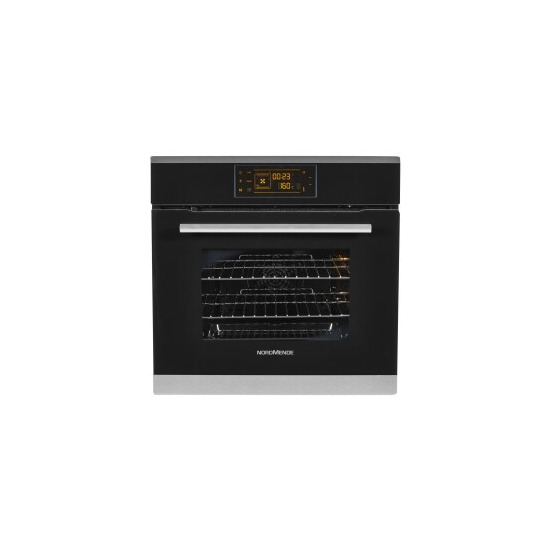 NordMende SOT213IX Touch Control Stainless Steel Single Fan Oven With Grill And LED Timer