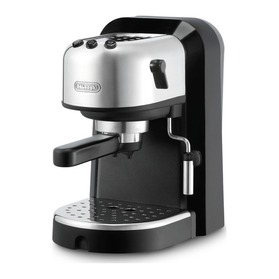 De Longhi EC271 Espresso Pump Coffee Machine - Black & Silver