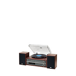 Teac MC-D800 Cherry All One Turnatable Speaker System w/ Bluetooth Reviews