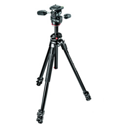 Manfrotto MK290DUA3-3W Aluminium Tripod with 3 Way Head Reviews