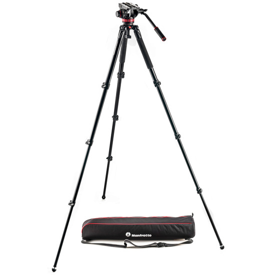 Manfrotto MVK502AQ 502 Aluminum Single Leg Video System