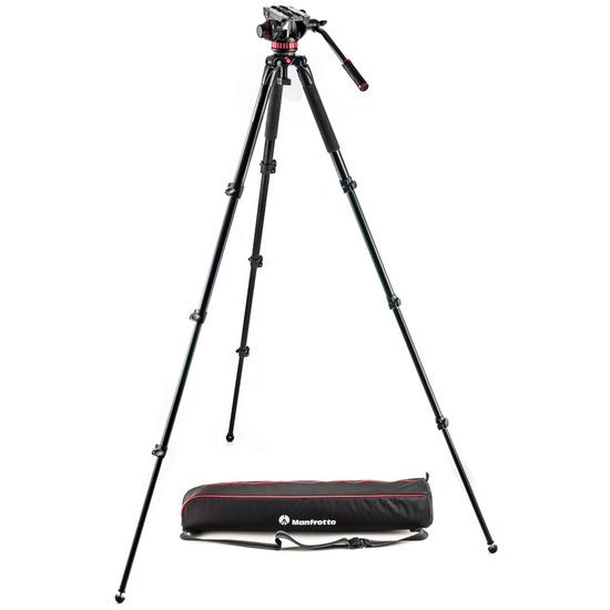 Manfrotto MVK502AQ 502 Aluminum Single Leg Video System