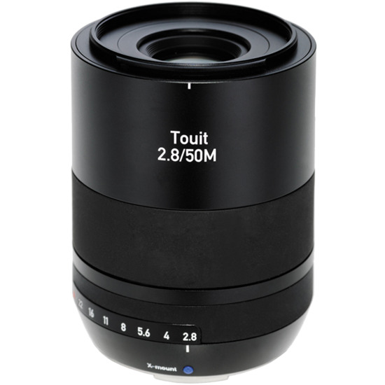 Zeiss Touit F2.8 50mm X-Mount - Fuji