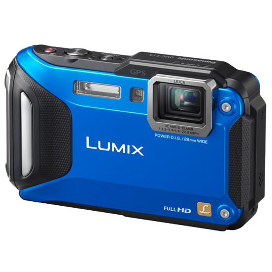 Panasonic Lumix DMC-FT5 Digital Camera - Orange