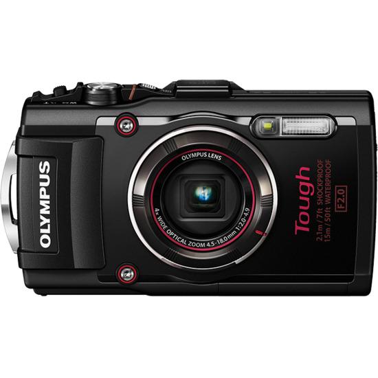 Olympus Tough TG-4 Digital Camera - Red