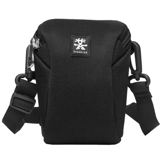 Crumpler Base Layer Pouch M - Black/Rust Red