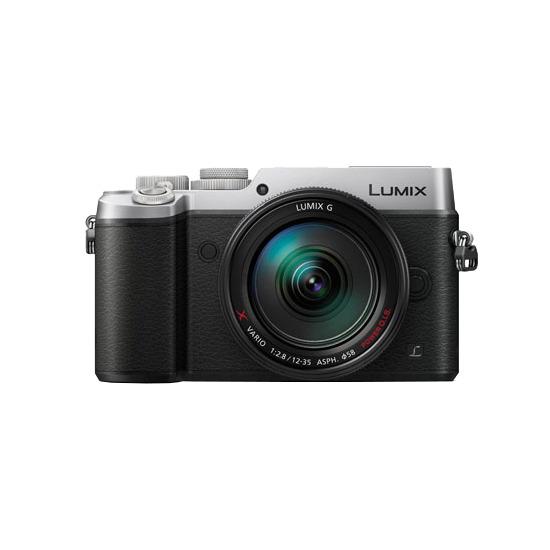 Panasonic Lumix DMC-GX8 Digital Camera with 12-35mm Lens Kit - Black