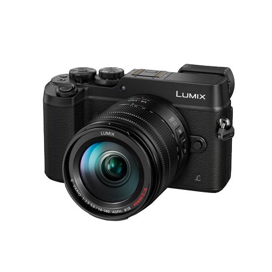 Panasonic Lumix DMC-GX8 Digital Camera with 14-140mm Lens Kit - Black